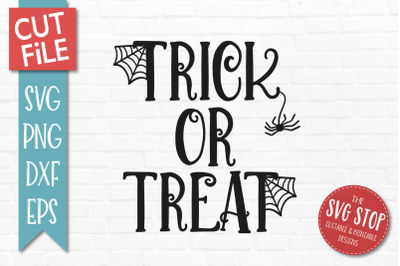 Trick Or Treat-Halloween SVG Cut File