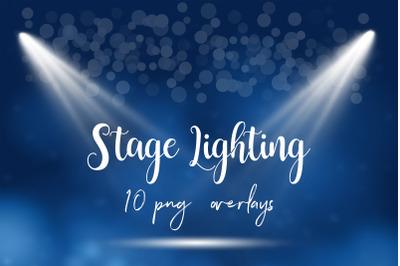 Stage Lighting Overlays