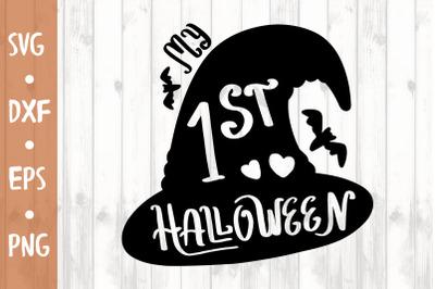 1st Halloween SVG CUT FILE