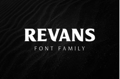 Revans Font Family