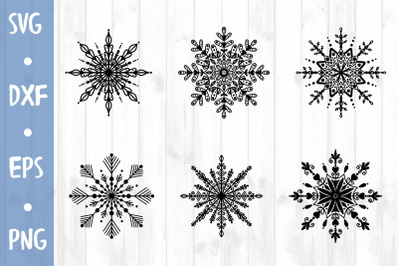 Snowflakes SVG CUT FILE