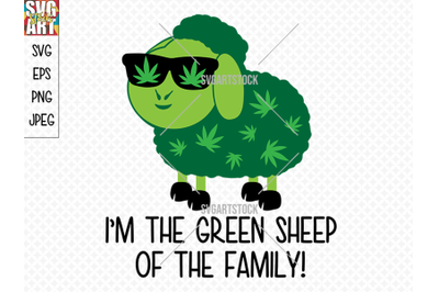 I'm the green sheep of the family