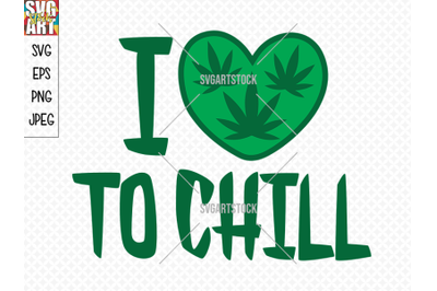 I love to chill