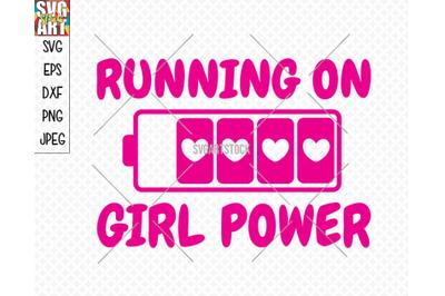 Running on girl power