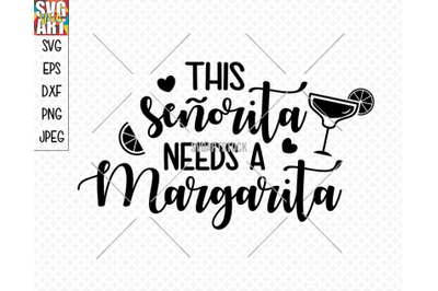This senorita needs a margarita