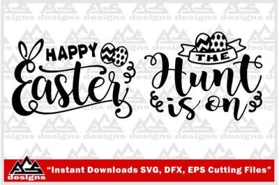 Happy Easter Svg Design