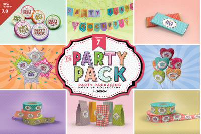 Party Packaging Mockups Vol.7
