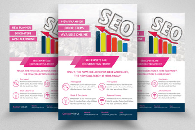 SEO Marketing Flyer / Poster Template