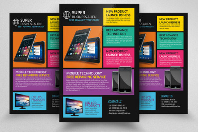 Technology Products Flyer Templates