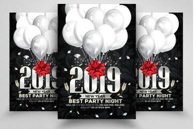 New Year Bash Flyer/Poster