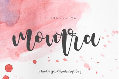 Montra Script Font