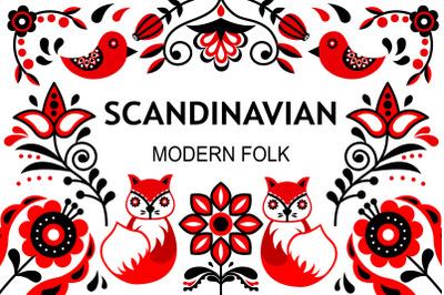 Scandinavian modern folk