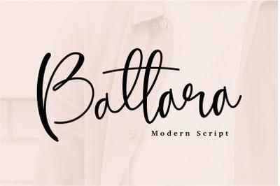 Battara Modern Calligraphy