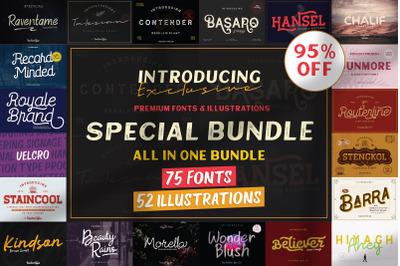 The Special Bundle - 95% Entire Shop
