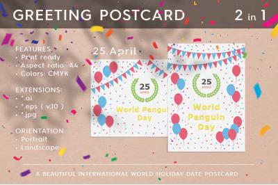 World Penguin Day - April 25
