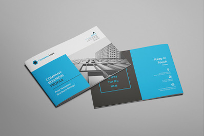 Hilih - A5 Company Profile Brochure Template