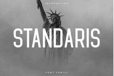 Standaris Font Family - Sans Serif