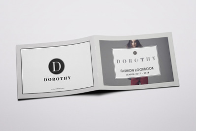 Dorothy - A5 Fashion Lookbook Brochure Template