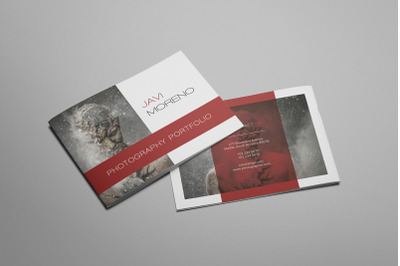 Elvira - A5 Photography Brochure Template