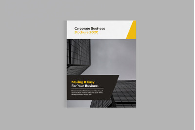 Bizpro - A4 Corporate Business Brochure Template
