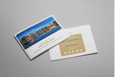 Nixie - A5 Hotel Brochure Template