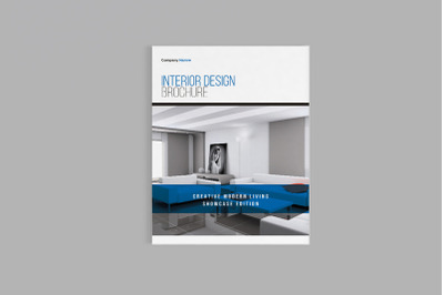 Exord - A4 Interior Design Brochure Template