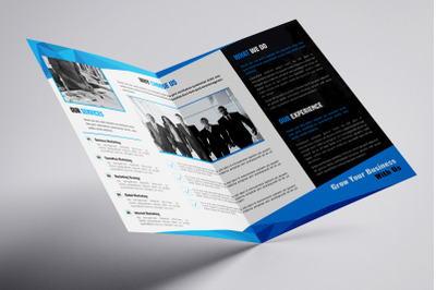 Byfold - A4 Company Profile Bifold Brochure Template
