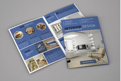 Onyx - Interior Bifold Brochure Template