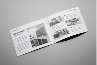 Zues - A5 Interior Brochure Template