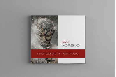 Pluto - Square Photography Portfolio Brochure Template