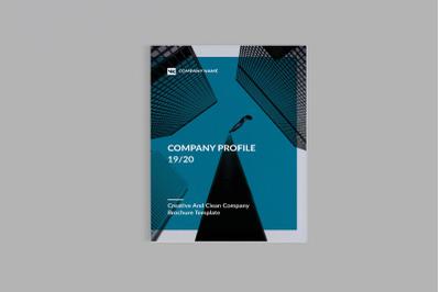 Jinada - A4 Company Profile Brochure Template