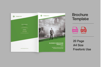 Bizy - A4 Business Brochure Template