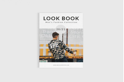 Freshlook - A4 Fashion Lookbook Template