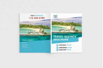 Travelista - A4 Travel Brochure Template