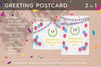 IEEE Global Engineering Day - May 13