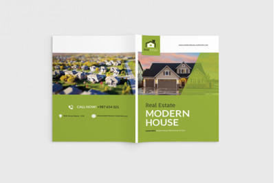 Homecore - A4 Real Estate & Property Brochure Template