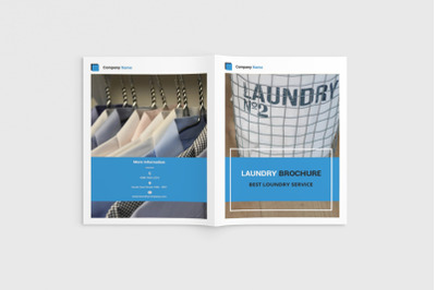 Cleany - A4 Laundry Brochure Template