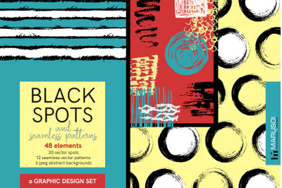 BLACK SPOTS and Seamless Patterns