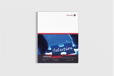 Cashvlo - A4 Finance Brochure Template