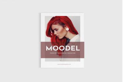 Modela - A4 Magazine Model Brochure Template