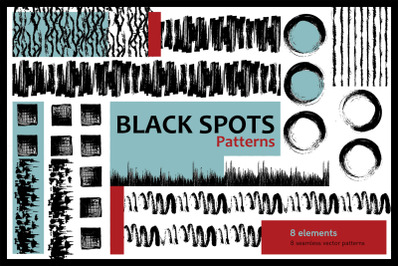 BLACK SPOTS Patterns