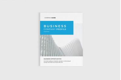 Moderno - A4 Company Profile Brochure Template