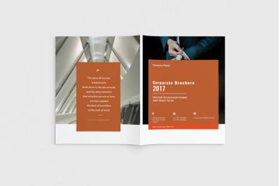Cortech - A4 Corporate Brochure Template