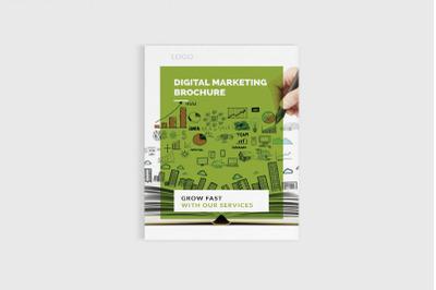 DigiKit - A4 Digital Marketing Brochure Template