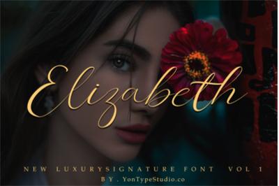 Elizabeth font