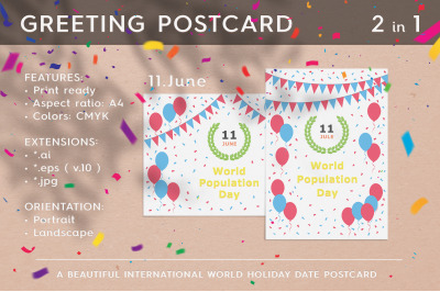 World Population Day - July 11