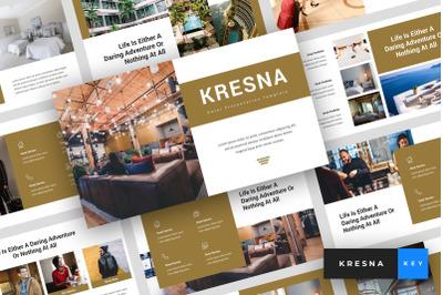 Kresna - Hotel Keynote Template