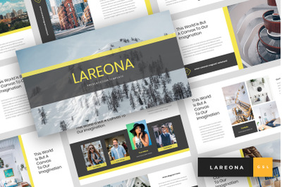 Lareona - Creative Google Slides Template