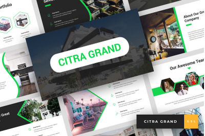 Citra Grand - Real Estate Google Slides Template