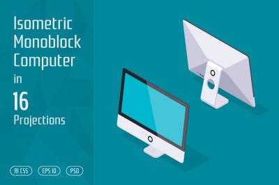 Isometric Monoblock Computer